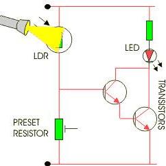 Resistor Circuit Diagram 120 Volt Relay Wiring 12 Light Dependent Download Scientific