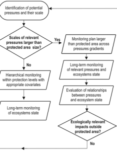 Decision flow chart for implementing ebm and choosing effective monitoring design in coastal zones to be protected white boxes steps required also rh researchgate