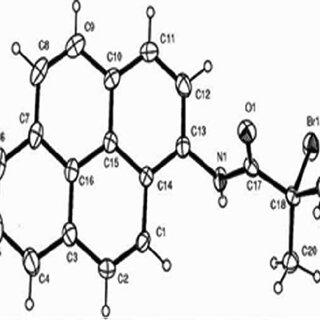 Powder X-ray pattern of amphiphilic block copolymer [P(S