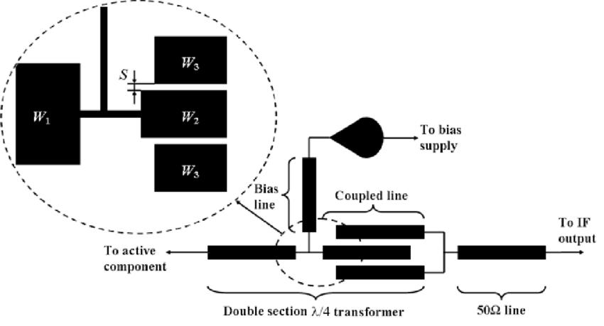 Schematic diagram of the proposed biasing circuit