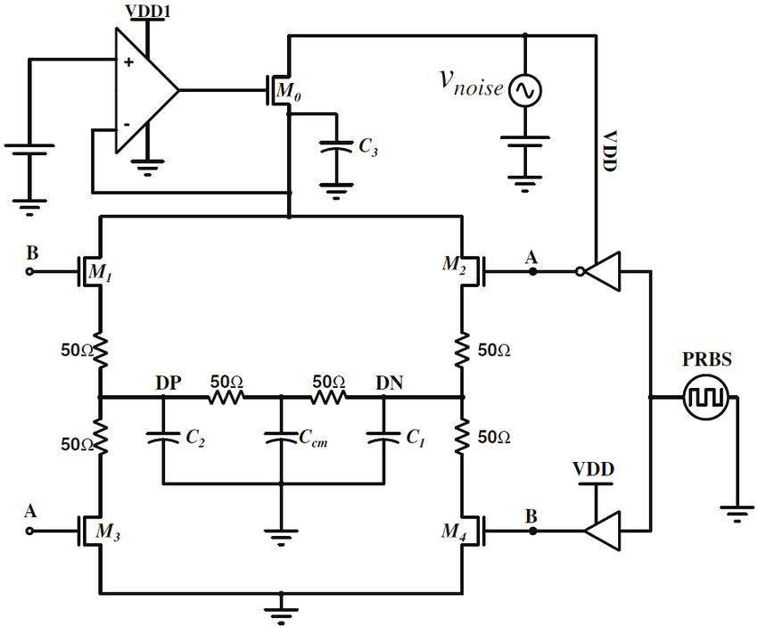 Driver Circuit 1) Circuit Description: Circuit shown in