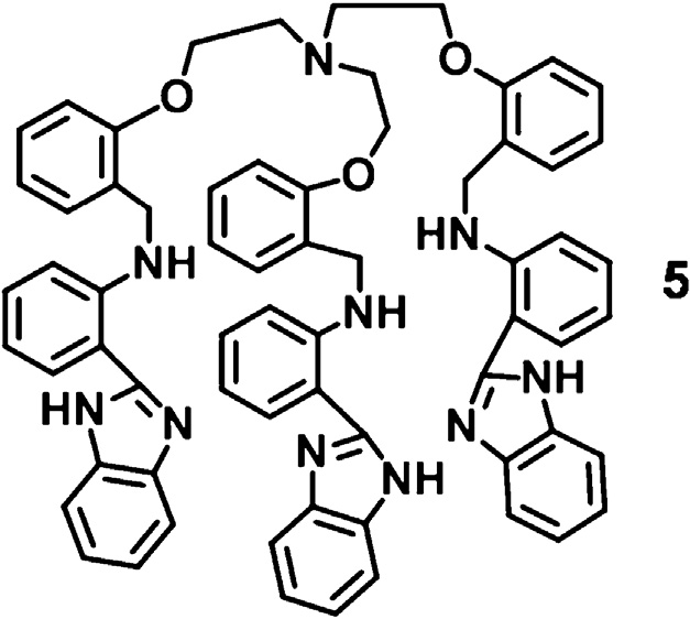 Structure of probe 5 which shows differential fluorescent
