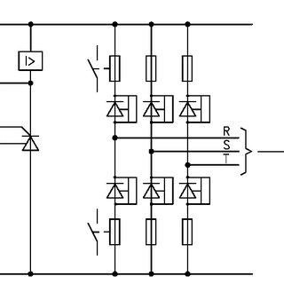 Thyristor converter in n-1 configuration The nowadays