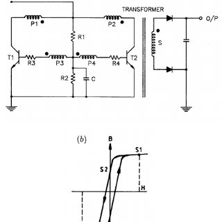 Circuit diagram of high-voltage multiplier and resistive