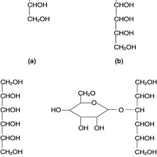 1 Chemical structure of starch with amylose and