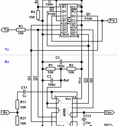 synchronous phase detector schematic elements 7474 2 d trigger 4066 [ 774 x 1055 Pixel ]