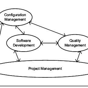 Process landscape of a software development project