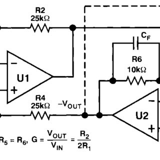 Balanced line receiver using push-pull feedback Compared
