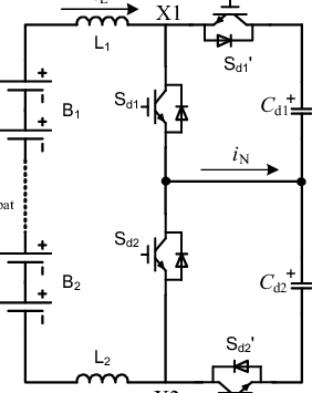 structure of the three-level bi-direction buck-boost