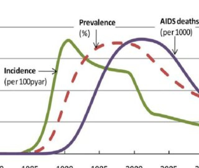 Trends In Zimbabwes Hiv Incidence Hiv Prevalence And Aids Deaths