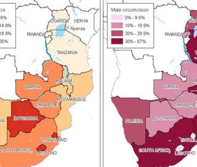 Vmmc Priority Countries Adult Hiv Plus Mc Prevalence