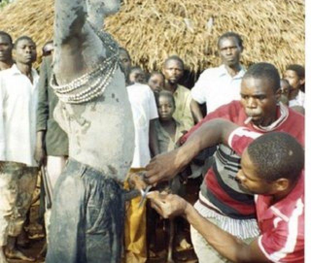 Traditional Adolescent Male Circumcision