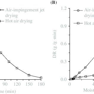 (PDF) Effects of Air-Impingement Jet Drying on Drying