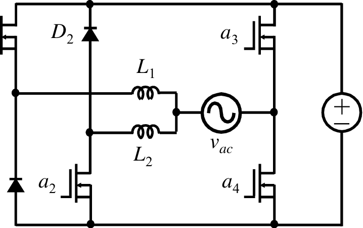 6 Circuit diagram of the novel bidirectional ac-dc
