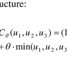 (PDF) On trivariate copulas with bivariate linear Spearman