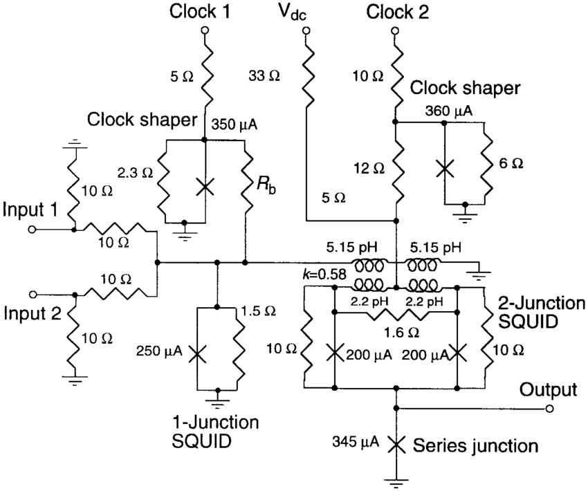 Schematic diagrams of: (a) COSL OR/AND gate and (b) NOR