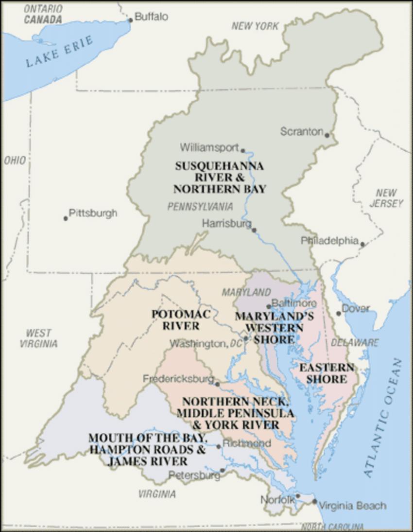 medium resolution of chesapeake bay watershed