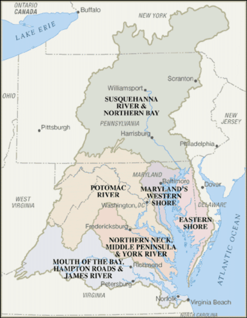 hight resolution of chesapeake bay watershed