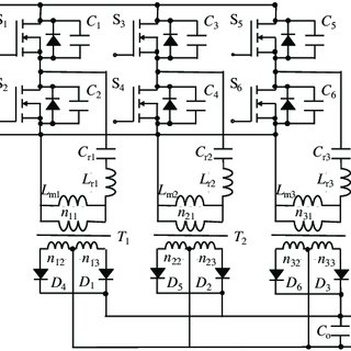 Conventional three-phase LLC resonant converter