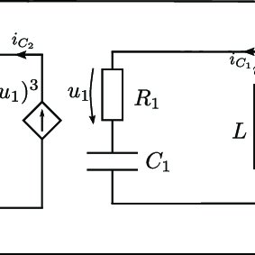 A circuit realization of the Rayleigh-van der Pol equation