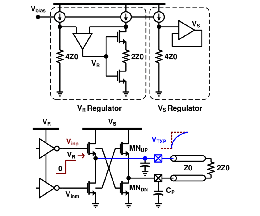 Fig. B. 1. Circuit diagram of an N-over-N voltage-mode
