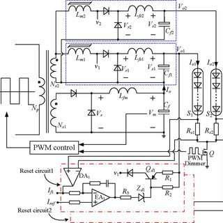 Circuit diagram of the proposed LED driver for RGB LED