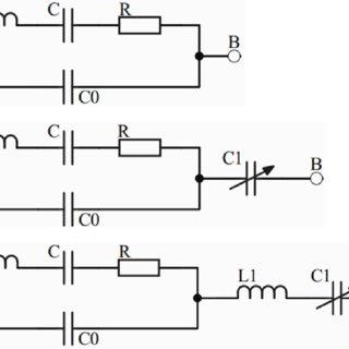Schematic diagram of the capacitive proximity sensor