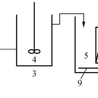 pool pump setup diagram cranial nerves brain schematic of 1 feed reservoir 2 3 anoxic