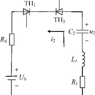 Circuit diagram for generating high voltage pulse from