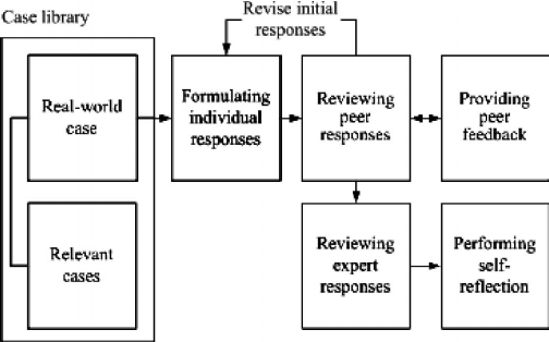 Scaffolding process for reasoning, problem solving, and