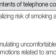 (PDF) Effects of a Smoking Cessation Program including