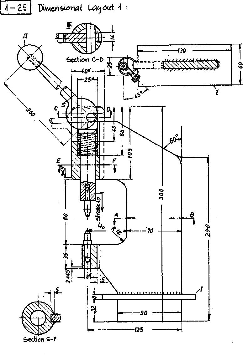 Detail design solution for rivet setting tool †17