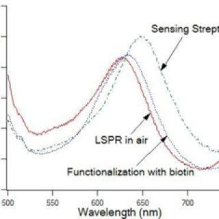 Optical setup for the fiber tip LSPR sensor based on