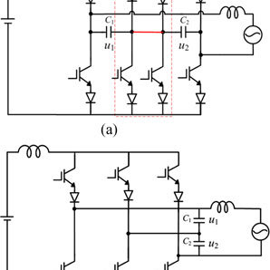 Single-phase to three-phase matrix converter with an
