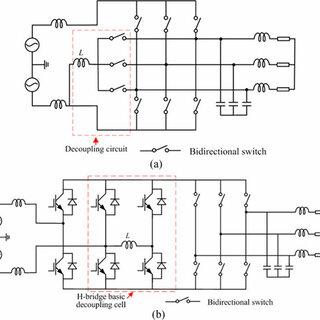 Single-phase to three-phase matrix converter with