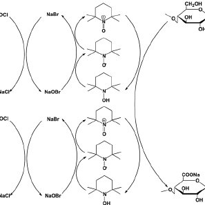 Schematic illustration of surface functionalization routes