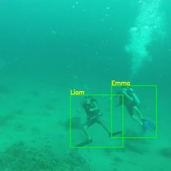 Scuba Gear Diagram Franklin Electric 1081 Pool Motor Wiring Detecting Divers Emma And Liam In Another Ocean Setting With Different Color