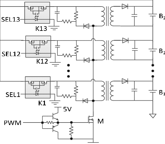 Schematic Diagram Of Flyback Transformer
