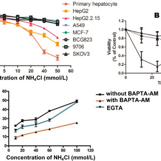 Effect of NH4Cl on the expressions of cleaved caspase-3