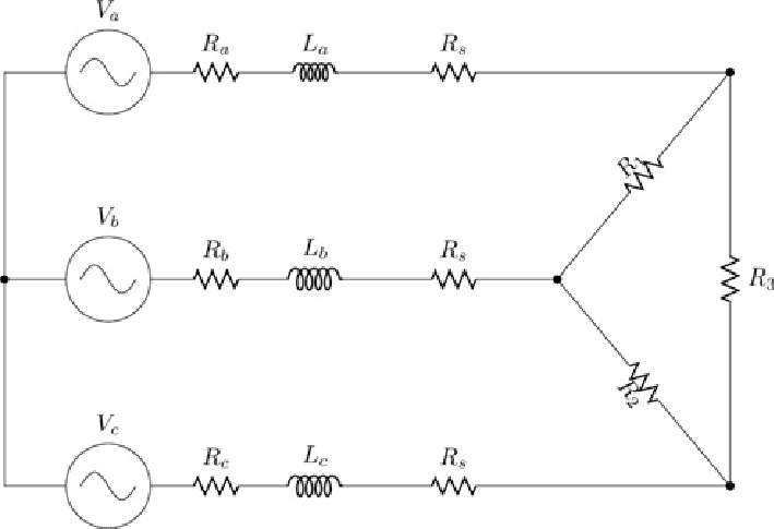 generator wiring diagram 3 phase free energy reaction coordinate circuit of the connected with three resistive load