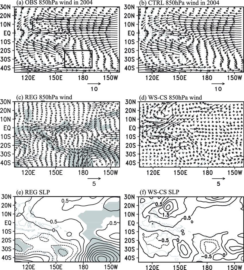 hight resolution of the seasonal mean 850 hpa winds m s 21 in the spring of 2004 from download scientific diagram