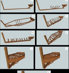 schematic representation of traditional plank on frame boatbuilding stages a keel b transom c bow d reference longitudinal frames  [ 800 x 1318 Pixel ]