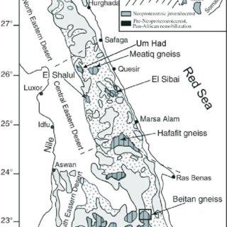 (PDF) Tectonics of the Eastern Desert of Egypt: Key to