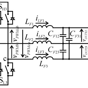 Block diagrams of the single- and the three-phase