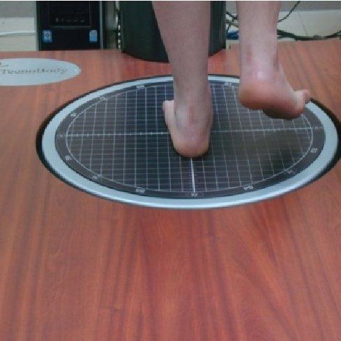Unipedal (right) static balance test | Download Scientific Diagram
