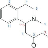 Chemical shifts of the benzene ring hydrogen atoms in the