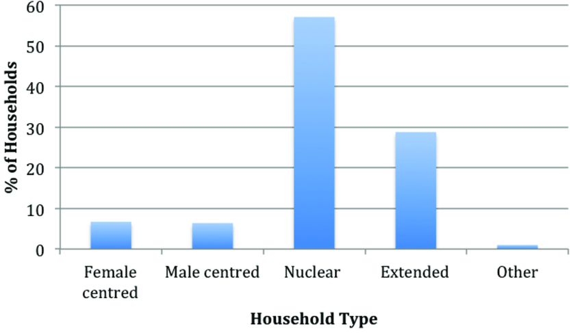 Distribution of Household Types | Download Scientific Diagram