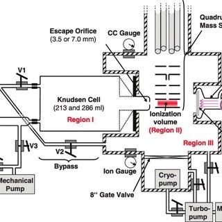 (a) Schematic diagram of a home‐built mass spectrometer