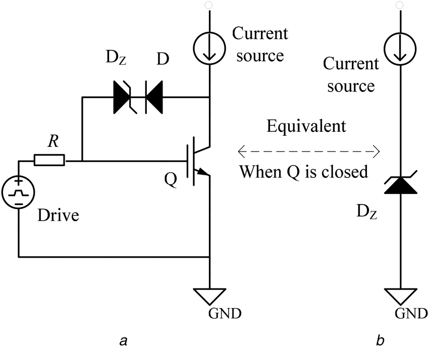 Basic RVG circuit and its equivalent circuit (a) RVG