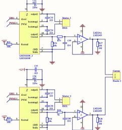 lmd18200 motor driver circuit download scientific diagram lmd18200 motor controller electronic project schematic [ 850 x 1059 Pixel ]